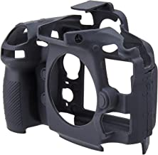 EasyCover ECND810B Nikon D810 için Silikon Kılıf, Siyah/Sarı