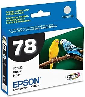 Epson Black Ink Cartridge - Inkjet - Black