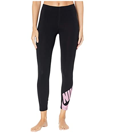 Nike Sportswear Legasee Leggings 7/8 Futura (Black/Pink Rise) Women