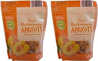 Dried Mediterranean Apricots 2 Packs Each 6 Oz