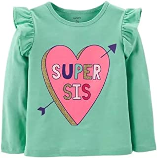 Carter's Super Sis Flutter Sleeve (24 Month) Mint Green