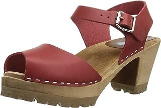 Best peep toe clogs wooden Reviews