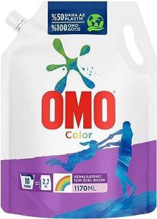 Omo Color Renkliler İçin Pouch, 1170 Ml, 18 Yıkama