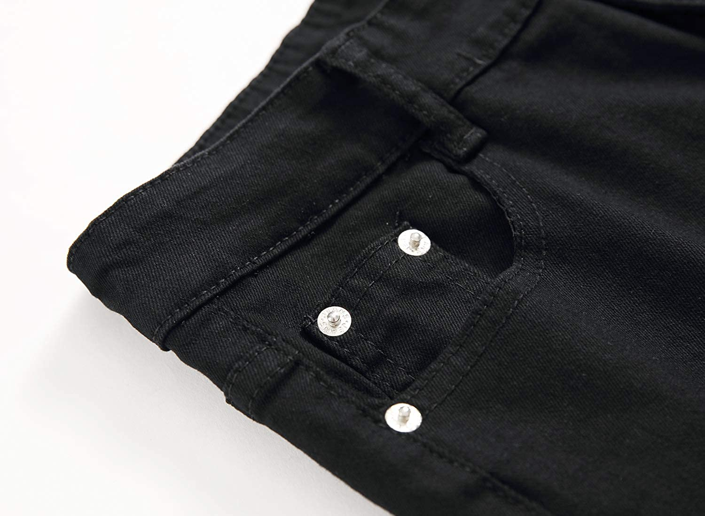 Jeans Kihatwin Big Boys Casual Skinny Ripped Jeans Slim Fit ...