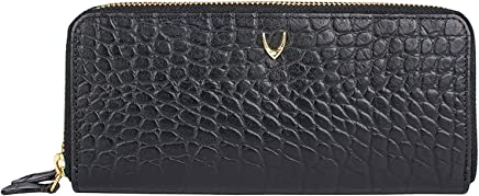 Hidesign Black Leather For Women - Zip Around Wallets