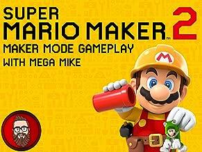 Super Mario Maker 2 Maker Mode Gameplay with Mega Mike