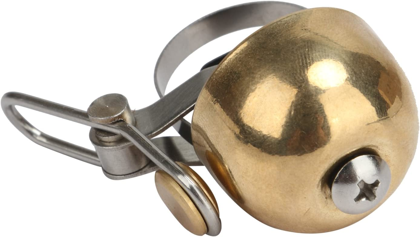 TOURBON Bike Bell Brass Loud Ring Crisp Clear Sound Fixed price for sale Max 47% OFF Horn