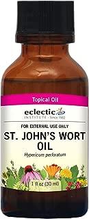 Eclectic St. John's Wort Oil T, Blue, 1 Fluid Ounce