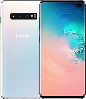 Samsung Galaxy S10+ Plus 128GB / 8GB RAM SM-G975F Hybrid/Dual-SIM Factory Unlocked 4G/LTE Smartphone - International Version (Prism White)