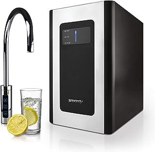 smardy blue Soda & Cool Machine à soda pour bouteille de CO2 2kg avec ultrafiltration en 2 étapes pour eau plate, refroidi...