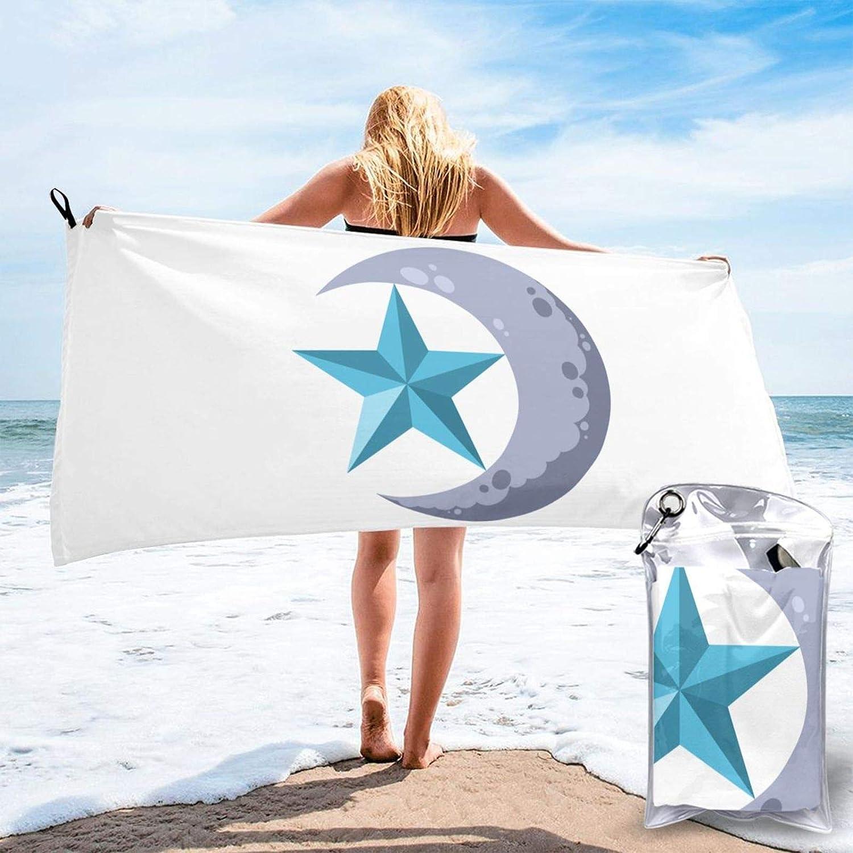 Moon Bath Towel Microfiber Quick Ranking TOP13 Sale SALE% OFF Beach Drying Travel Home