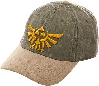 Legend of Zelda Hat w/Suede Bill