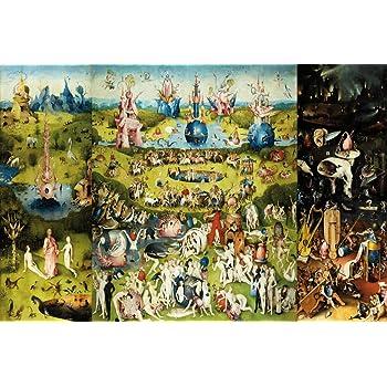 1art1 El Bosco - El Jardín De Las Delicias, 1500 Póster (91 x 61cm): Amazon.es: Hogar