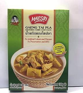 Thai Fish Organs Sour Soup 100g (Southern Curry Soup Paste) Product of Thailand.