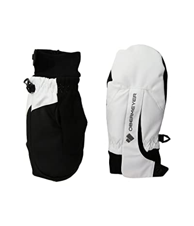 Obermeyer Kids Thumbs Up Mitten (Little Kids/Big Kids) (White) Extreme Cold Weather Gloves