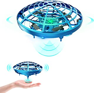 DEERC Drone for Kids Toys Hand Operated Mini Drone UFO Flying Ball Toy Gifts for Boys and Girls...