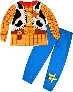 30374c6797882 Disney Toy Story lueur dans l obscurité Nouveauté garçons Long Length  Pyjama 1.5-2