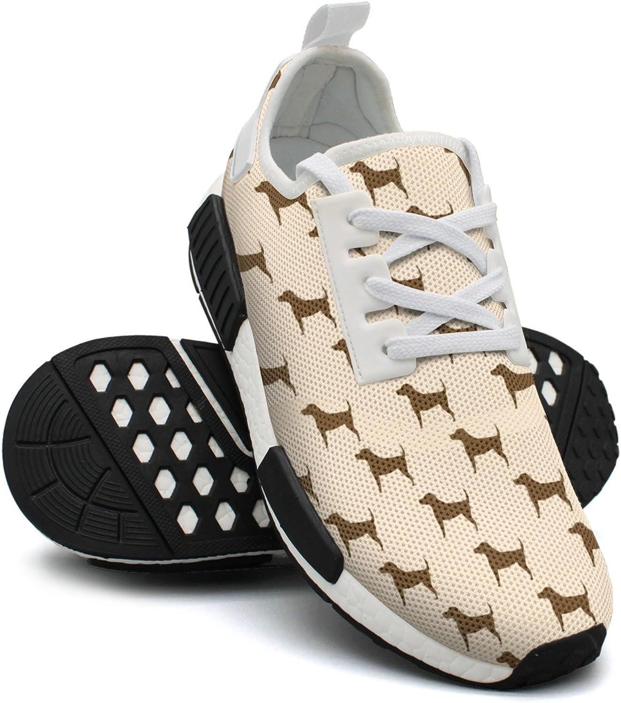 Corgi Puppy Running Women's Comfortable Lightweight Running Sneakers Gym Outdoor Basketball shoes