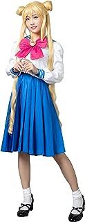 Cosfun Pretty Sailor Cosplay Crystal Ver School Uniform Dress Suit