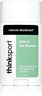 Thinksport Deodorant, Aloe and Tea Flowers (2.9 ounce)