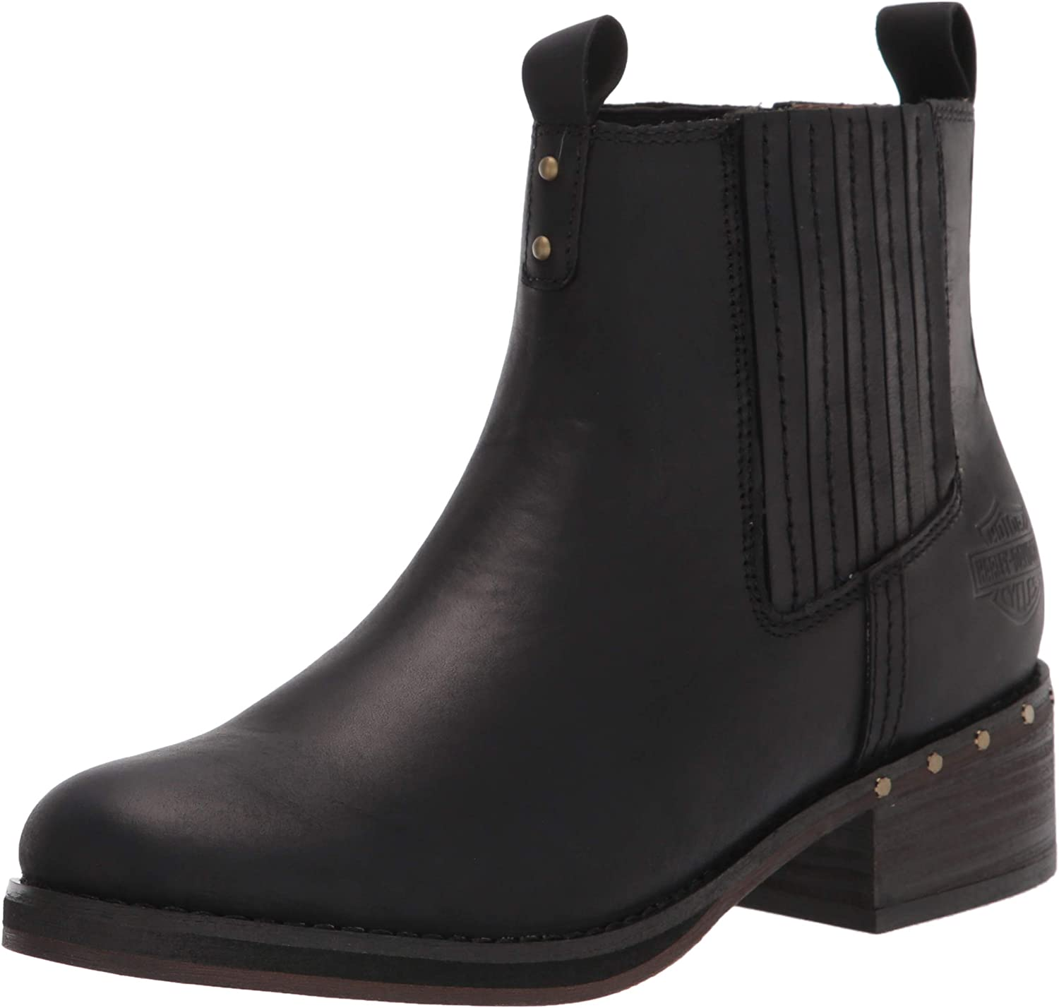 HARLEY-DAVIDSON FOOTWEAR Women's Brittany Pull on Motorcycle Boot