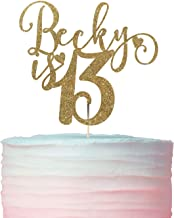 Name and Age Birthday Cake Topper / 1st, 2nd, 3rd, 4th, 5th, 6th, 7th, 8th, 9th, 10th, 11th, 12th, 13th, 14th, 15th birthday cake topper