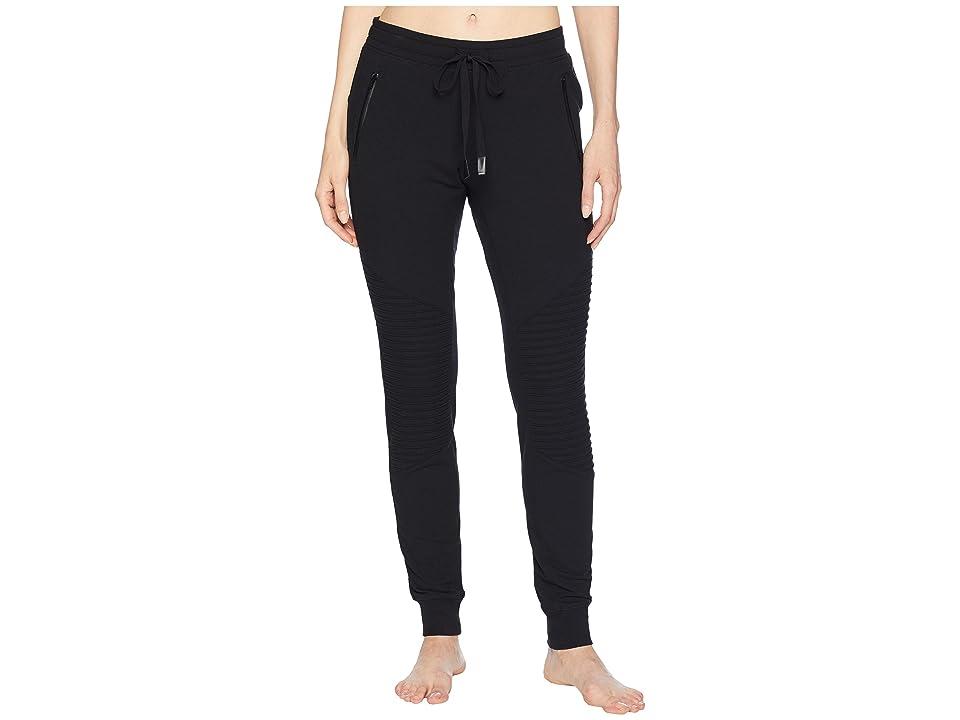ALO Urban Moto Sweatpants (Black) Women