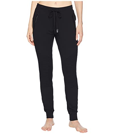 ALO Urban Moto Sweatpants (Black) Women