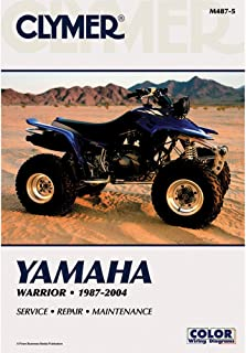 Clymer Repair Manual for Yamaha ATV YFM350 Warrior 87-04
