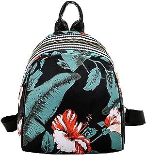 Mochilas Mujer Casual,Las mujeres niñas imprimir lindo estilo de la escuela bolsa de viaje