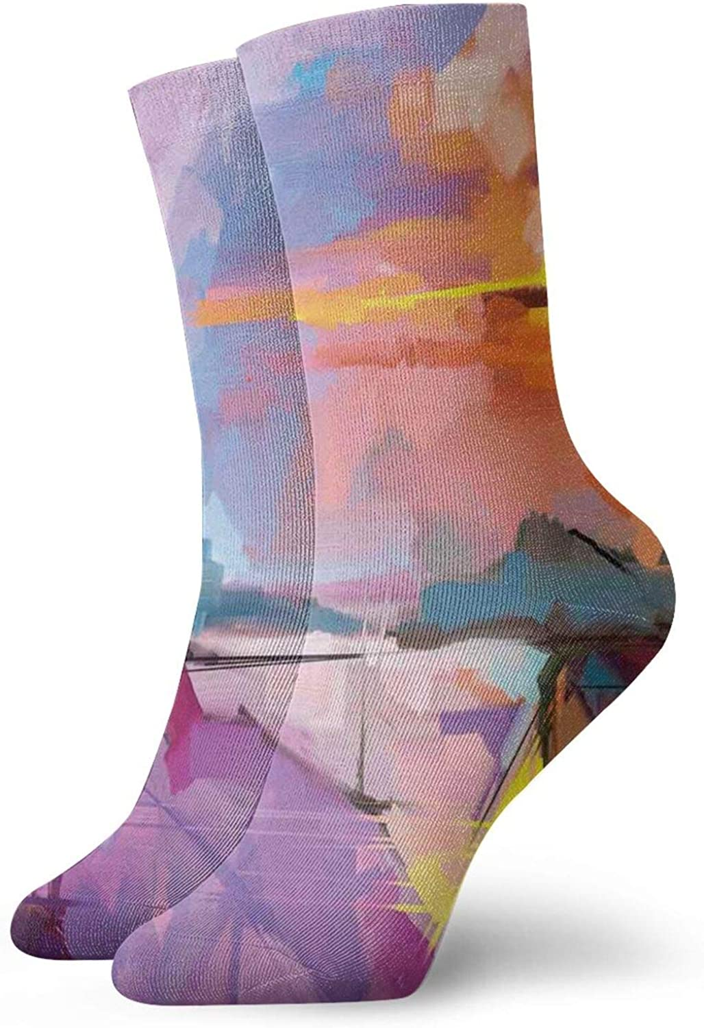 Compression Overseas parallel import regular item Ankle Time sale Socks for Athletic C Unisex Running