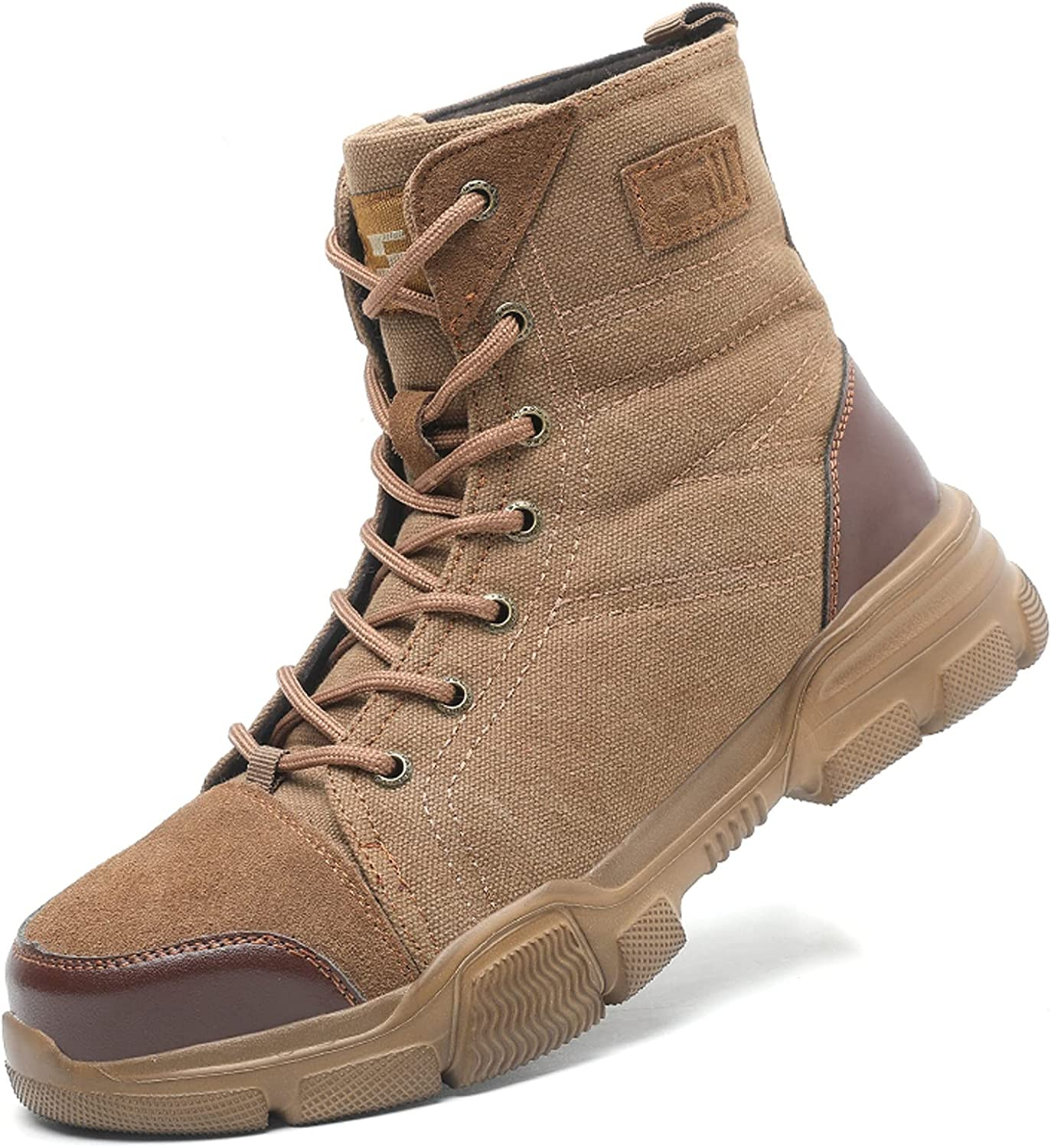 Military Tactical Work Boot for Men toe Boots Max 81% OFF trust Desert Steel H