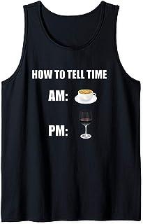 Comment dire le temps T-Shirt - Café & Vin Débardeur