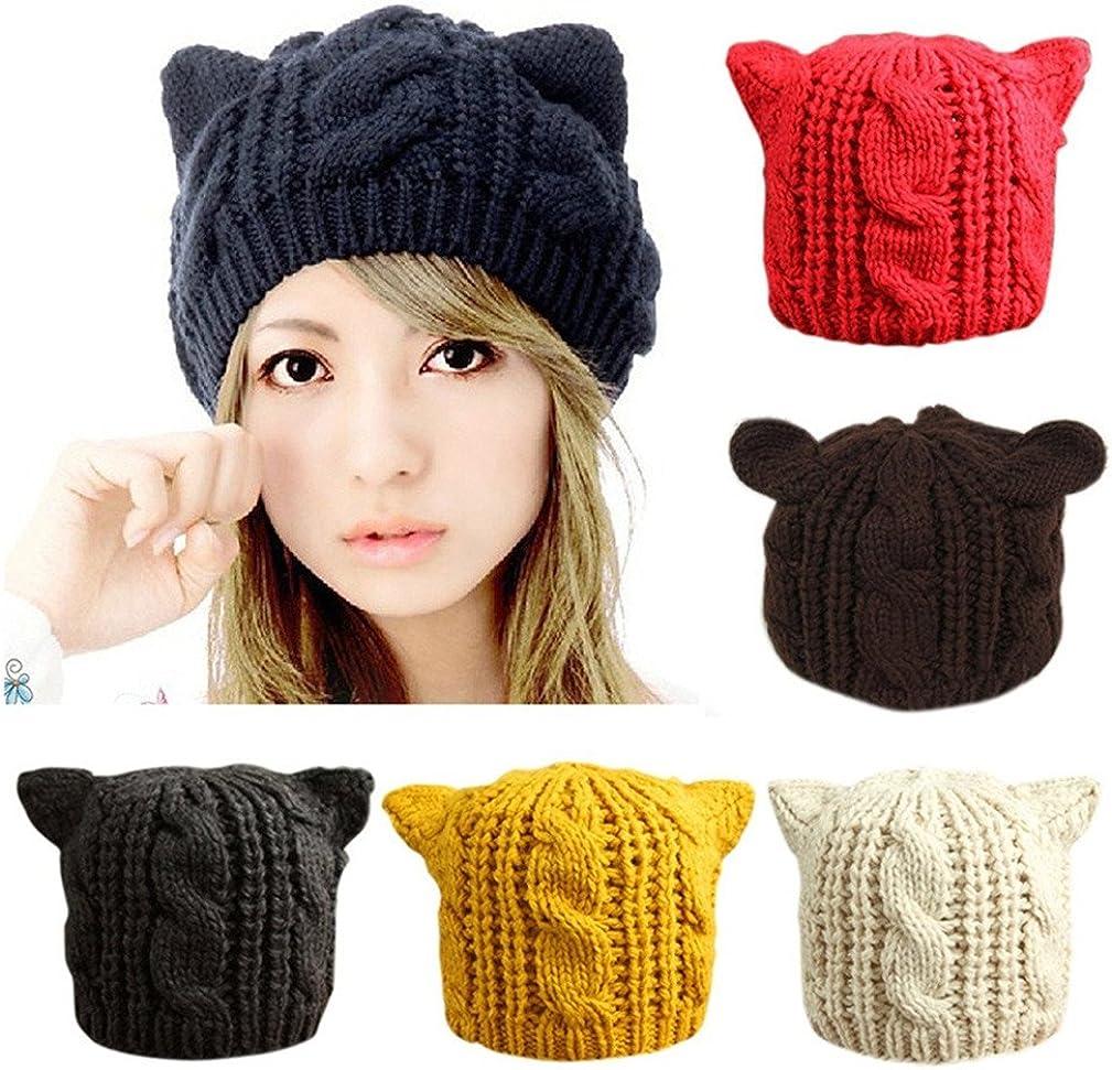 CoKate Women Winter Knit Hats Beanie Warm Pom New product favorite Stretch