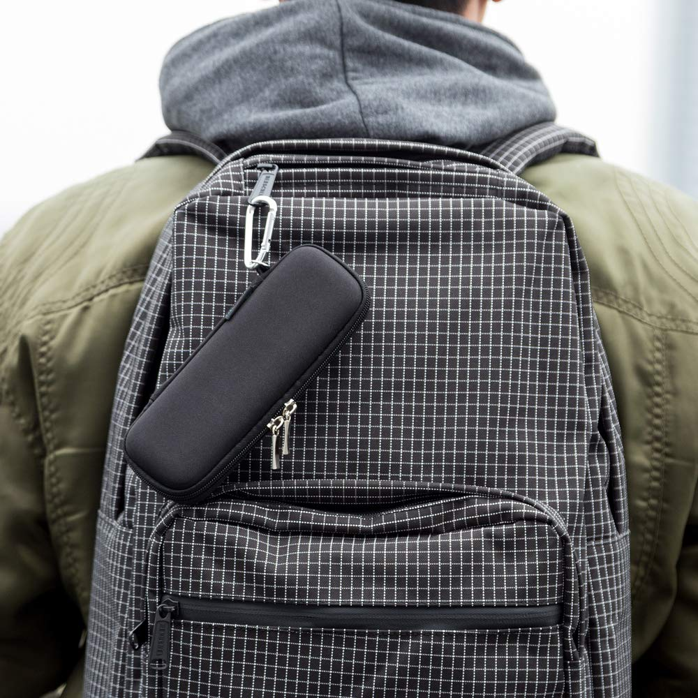 iDream365(TM) Small Size EVA Carrying Case/Bag/Pouch/Holder for Executive Fountain Pen,Ballpoint Pen,Stylus Touch Pen-Black