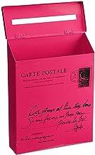 ZHYLing Post Box Vintage Metalen Mail Box Case Tin Krant Brievenbus Waterdichte Post Box Lock Box Tuin Oranment 8Kleuren (...
