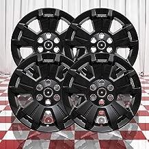 Brighter Design Set of 4 Gloss Black 5 Spoke 17