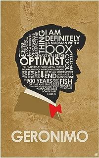 Doctor Who, Matt Smith, Geronimo Word Art Print Poster (12