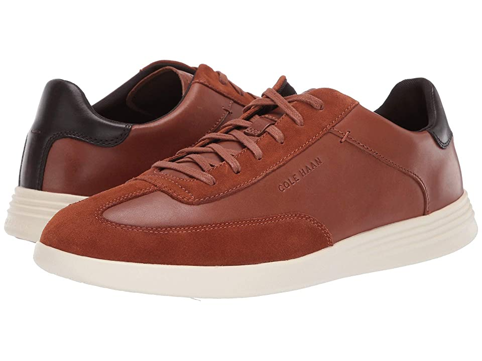 Cole Haan Grand Crosscourt Turf Sneaker (British Tan Leather/Suede) Men