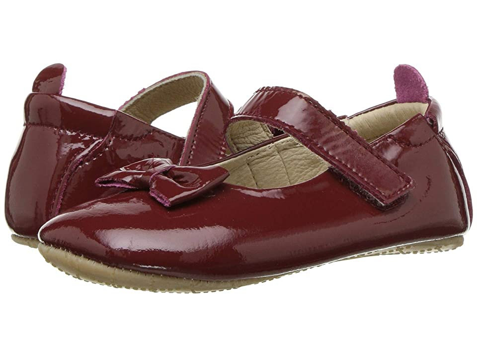 Old Soles Baby Glam (Infant/Toddler) (Rouge Patent/Rouge Patent) Girl