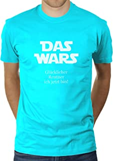 KaterLikoli - Camiseta para hombre, diseño con texto en alemán