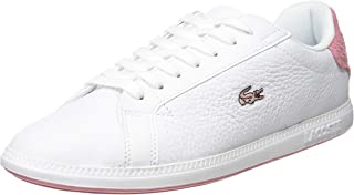 Lacoste Graduate 319 1 Womens White/Pink Trainers