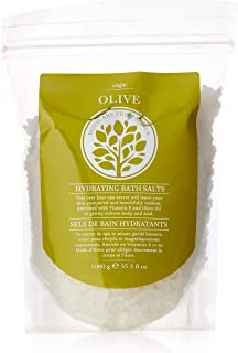 African Skincare Cape Olive Hydrating Bath Salts, 1000 Grams