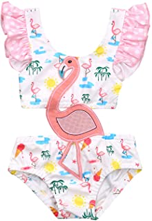 Sun Protection 9M-6T UPF 50 KAVKAS Baby//Infant//Toddler Girls Bathing Suit Cute Swimming Costume Beach Suits