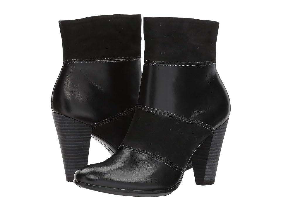 ECCO Shape 75 Modern Boot (Black/Black) Women