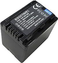 [SIXOCTAVE][最新チップ搭載] パナソニック 残量表示可能純正品と同じ使用方法 VW-VBT380 / VW-VBT380-K 互換バッテリー メーカー純正充電器チャージャー カメラ本体共に充電可能 HC-WX1M/HC-WZX1M/...