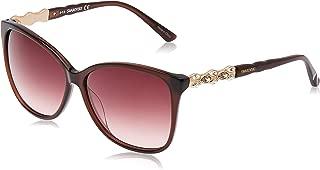 Swarovski Women's Sonnenbrille SK0085 6048F Sunglasses, Brown (Braun), 60