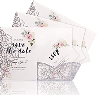 Best laser cut butterfly invitations Reviews