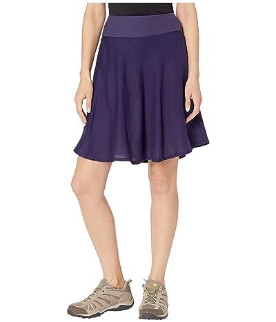 Royal Robbins Cool Mesh Eco Skirt II (Ink Blue) Women