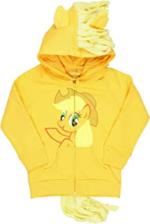 My Little Pony Applejack - Sudadera con capucha para niña, color naranja